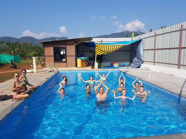 Ocean Yoga Goa  India 18