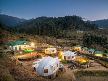 Carnoustie Himalyan Eco Resort Village Kanera India