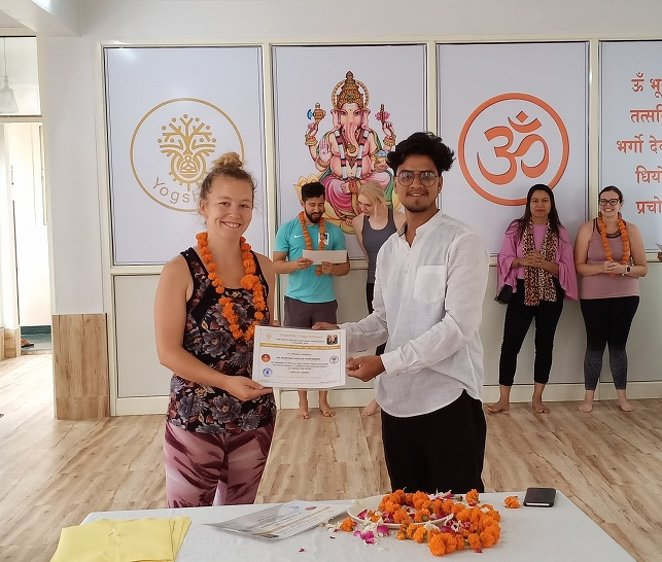 Yogshala Yoga School 200 Hour 15 Days  Yoga Teacher Training Course in Rishikesh, India. 3