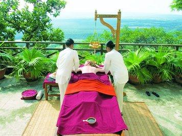 Ananda in the Himalayas Ayurvedic Rejuvenation Progra