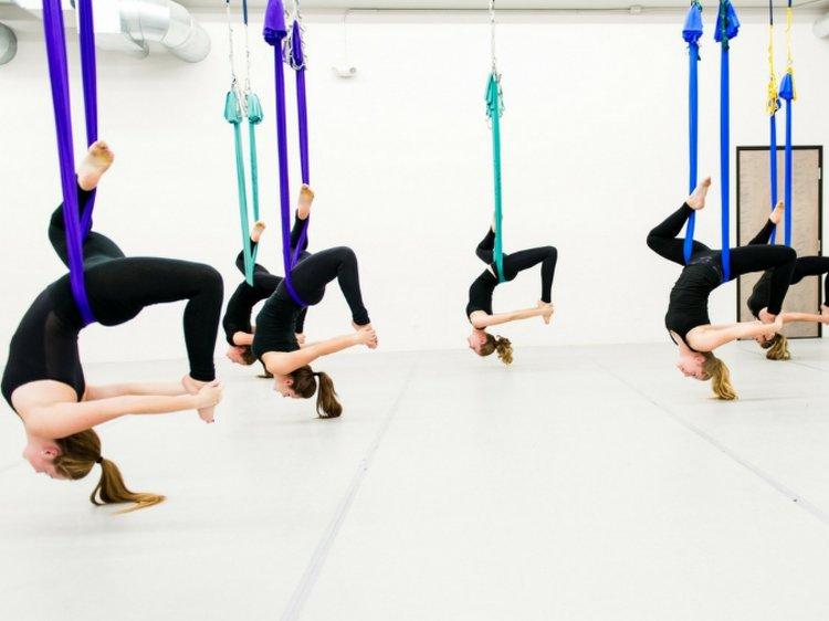 AAYAA YOGA Rishikesh 50 Hours Yoga Teachers Training Aerial 1
