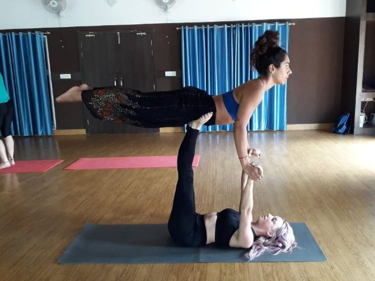 AAYAA YOGA Rishikesh 50 Hours Yoga Teachers Training Aerial 2