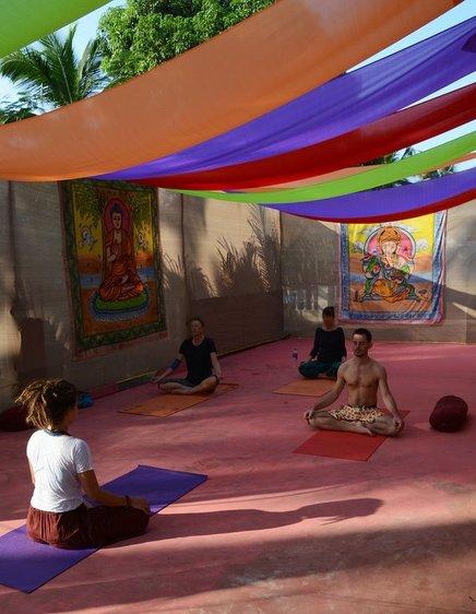 The YogaCave Initiative - Goa Canacona India 2