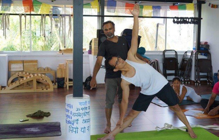The YogaCave Initiative - Goa 200hr Hatha Yoga TTC 1