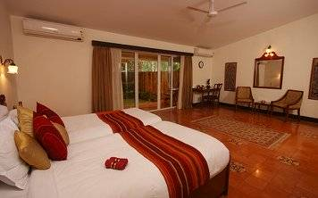 SOUKYA Panchakarma Basic Deluxe Room