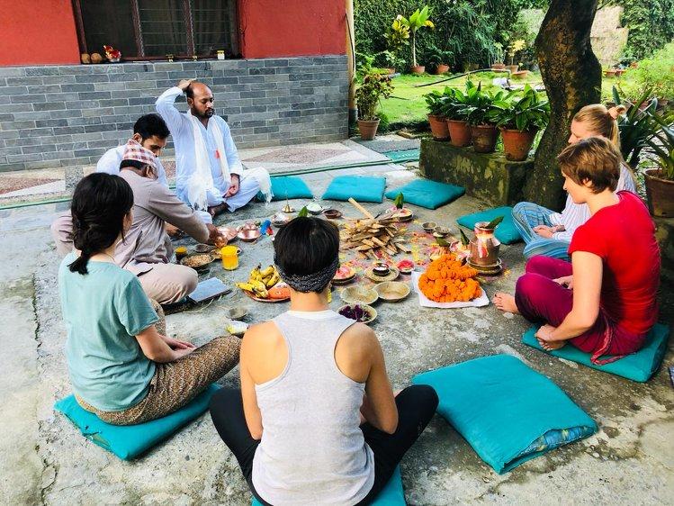 Mantra Yoga & Meditation Pokhara Nepal 1