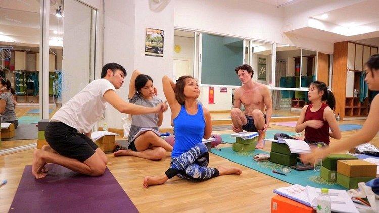 AYM Yoga School Goa Arambol India 3