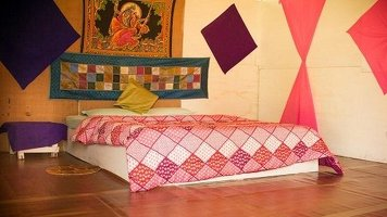 AYM Yoga School Goa PRIVATE ACCOMMODATION