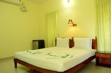Ganesh Ayurveda Holiday Home arthritis management deluxe double room with balcony AC