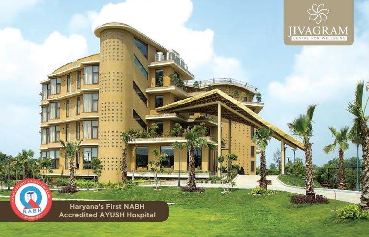Jivagram Ayurveda Hospital ( For Indian Residents) Faridabad INDIA 1