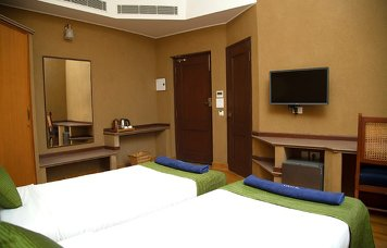 Jivagram Ayurveda Hospital Superior Room