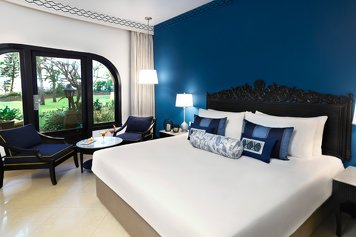 Taj Fort Aguada Resort & Spa Goa Wellness Retreat Superior Room Garden view with sit-out