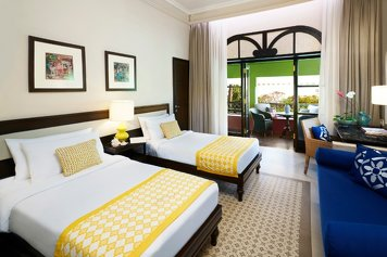 Taj Holiday Village Resort & Spa, Goa Wellness Retreat Superior room garden view with balcony