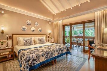 Taj Holiday Village Resort & Spa, Goa Wellness Retreat Luxury room garden view with balcony