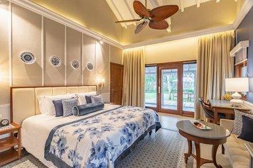 Taj Holiday Village Resort & Spa, Goa Wellness Retreat Luxury room garden view with sit-out
