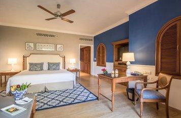 Taj Exotica Resort and Spa Goa Holistic Wellness Villa Room King Bed Garden View