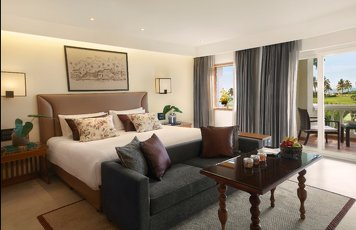 Taj Exotica Resort and Spa Goa Deluxe Room King Bed Sea View