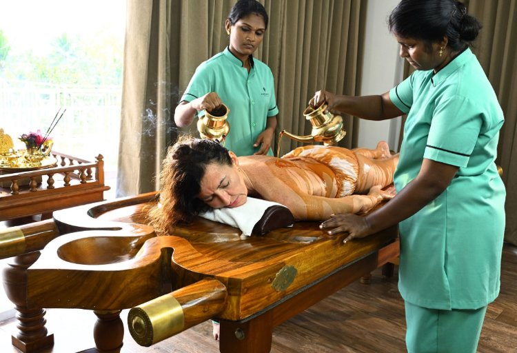 Aadisaktthi Ayurveda Village NECK AND SPINE CARE 4